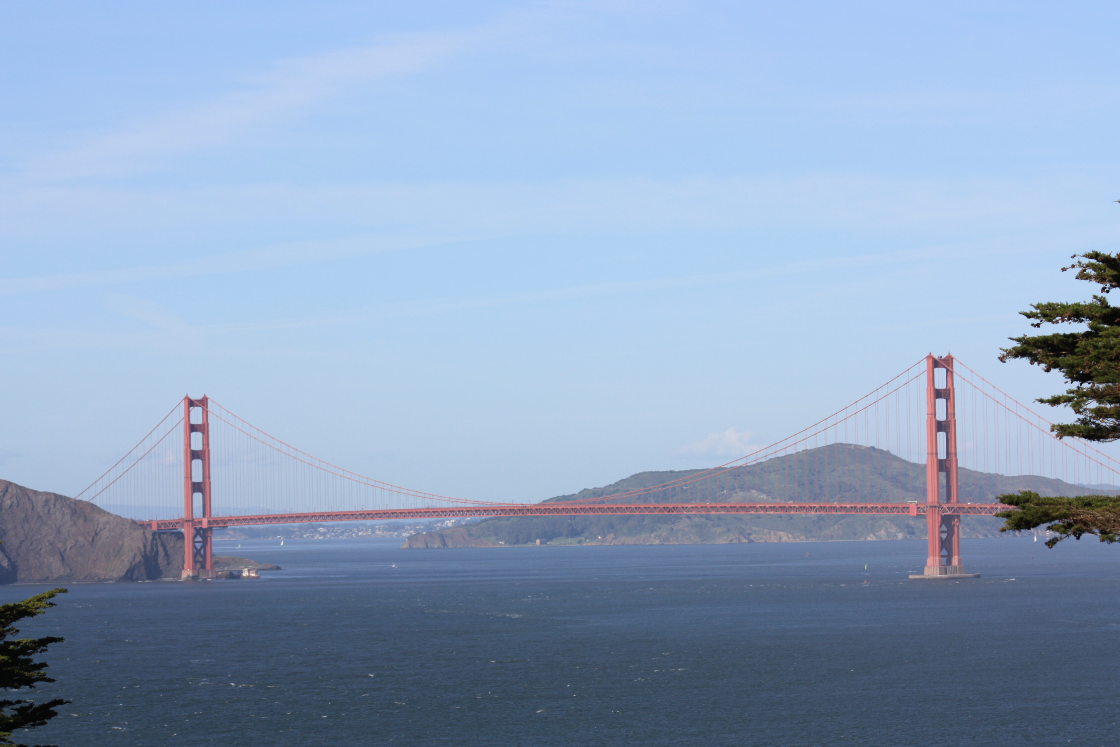 Golden Gate Bridge as seen from Lands End