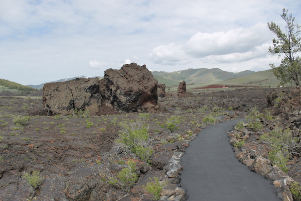 North Crater Flow Trail at Craters of the Moon National Monument and Preserve