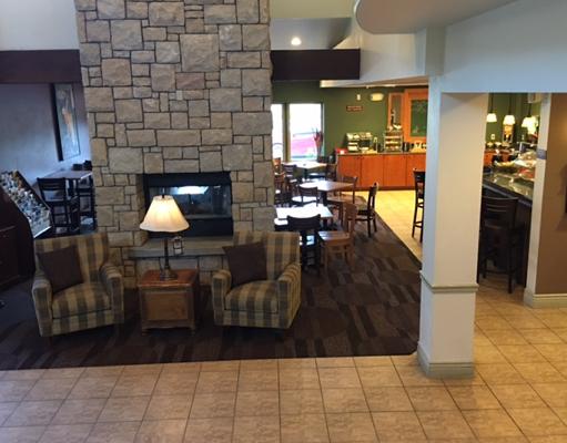 AmericInn Lobby in Hailey, Idaho