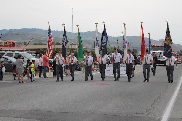 Start of Parade