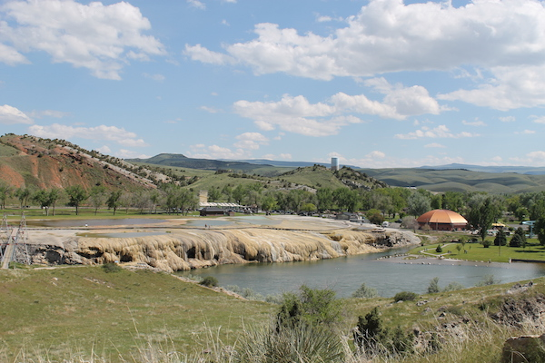 Hot Springs State Park in Thermopolis.