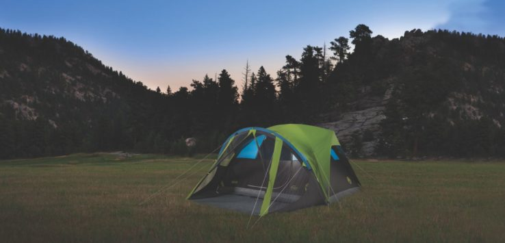 If you loved to c& before starting a family and now have babies and young kids still in the napping phase sleep can be a huge barrier to getting back out ... & Innovations in Camping: Coleman Carlsbad Dark Room Tent with ...
