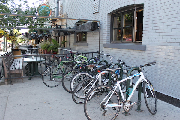 Bicycles in Downtown Boise