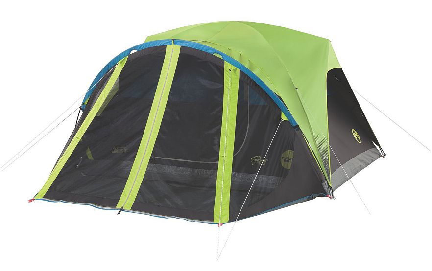 Carlsbad4p  sc 1 st  Road Trips For Families & Innovations in Camping: Coleman Carlsbad Dark Room Tent with ...