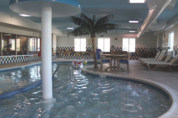Swimming Pool Hampton Inn Downtown Boise