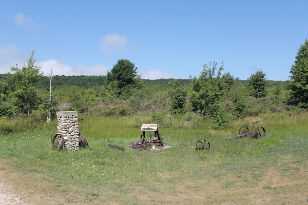 Farm Artifacts on South Manitou Island