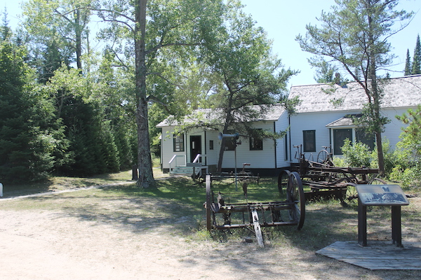 Muesum on South Manitou Island