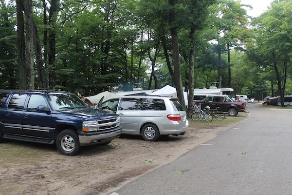 Car Camping at Pines Campground