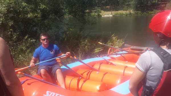 White Water Rafting the Rogue River with Orange Torpedo Trips Guides