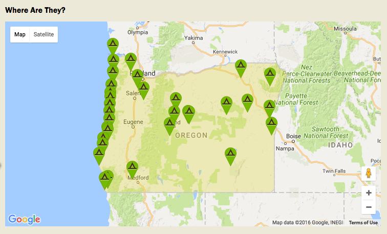 oregon yurt locations