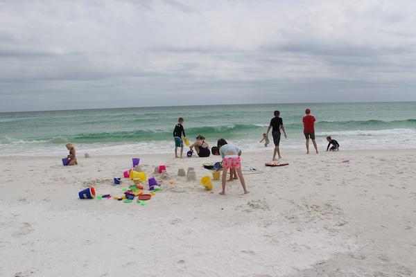 Kids Love Pensacola Beach