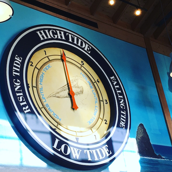 Pelican Brewing Tide Clock