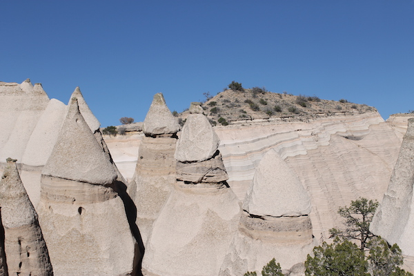Shaped by wind and rain over the past six to seven million years the cone-shaped tent rock formations are the products of volcanic eruptions across the ... & Kasha-Katuwe Tent Rocks National Monument - Road Trips For Families