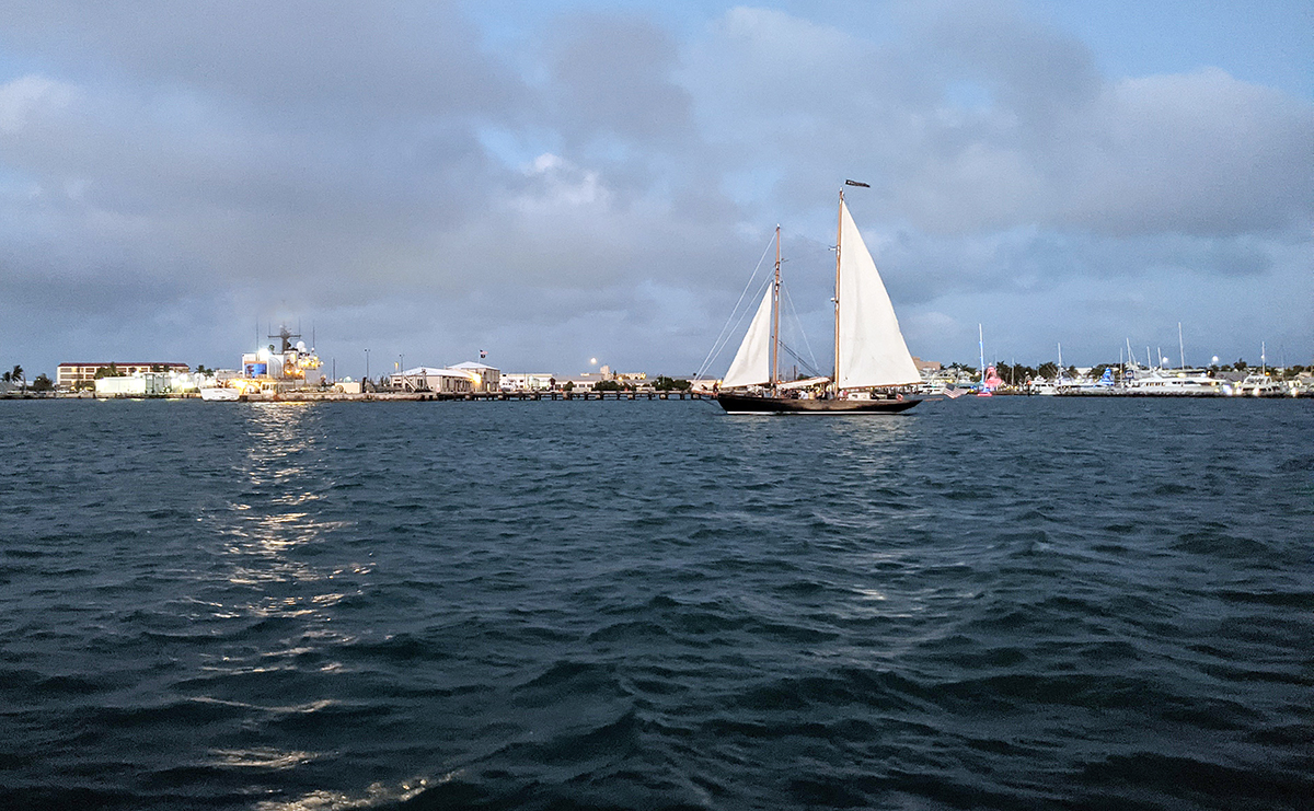 Sailing in Key West