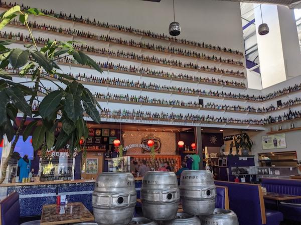 Inside Caldera Brewing in Ashland, Oregon